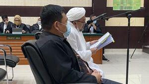 Rizieq Shihab Sebut Tuntutan Jaksa Sadis dan Tidak Bermoral