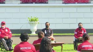 Presiden Jokowi Beri Bonus Peraih Medali Paralimpiade Tokyo