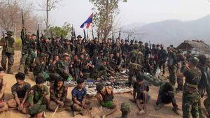 Bentrok dengan Gabungan Etnis Bersenjata, 32 Tentara Rezim Militer Myanmar Tewas