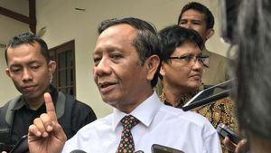 Jokowi Cabut Perpres Miras, Mahfud MD: Pemerintah Tidak Alergi Kritik dan Saran