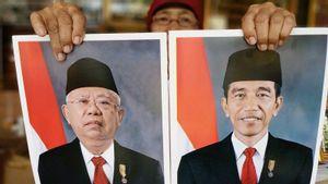 Menerka THR yang Diterima Presiden Jokowi dan Wakil Presiden Ma'ruf Amin, Rp62 Juta?