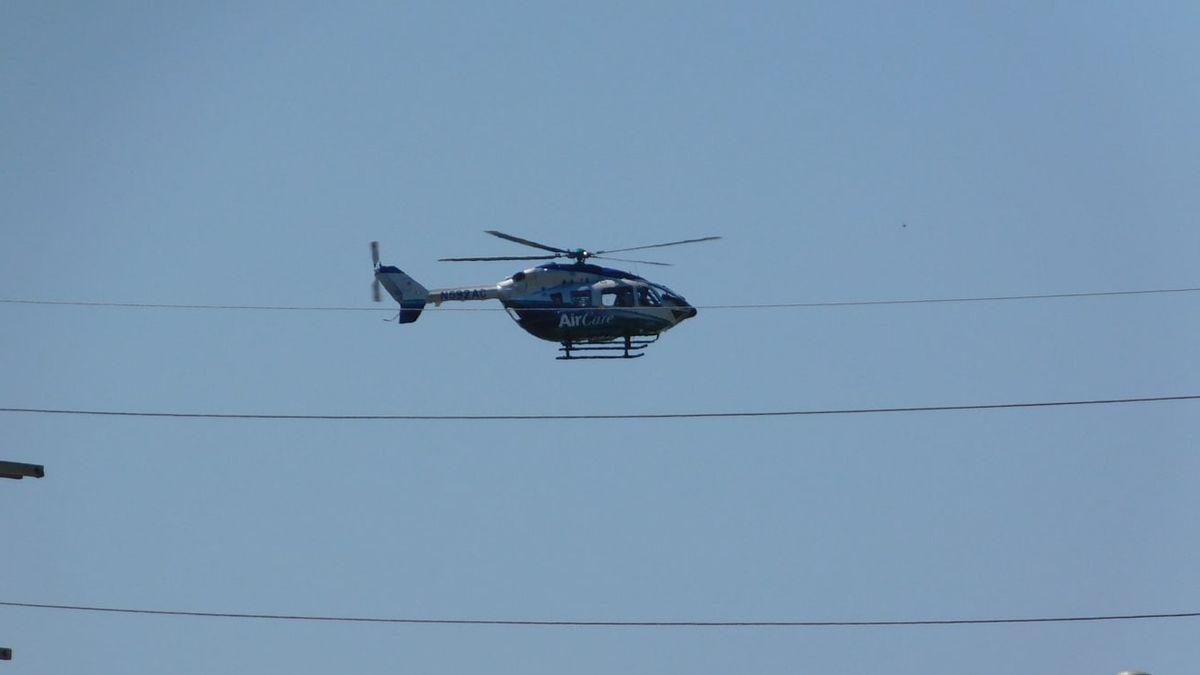 Helikopter Latih Jatuh di Buperta Cibubur