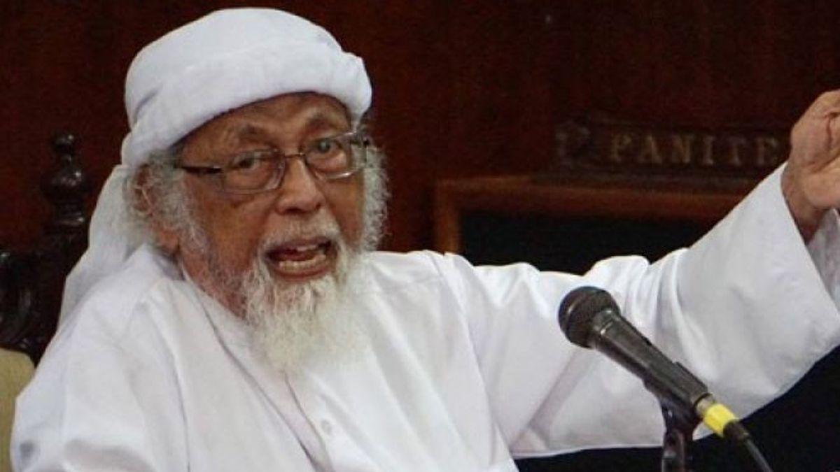 BNPT akan Deradikalisasi Abu Bakar Ba'asyir Setelah Bebas