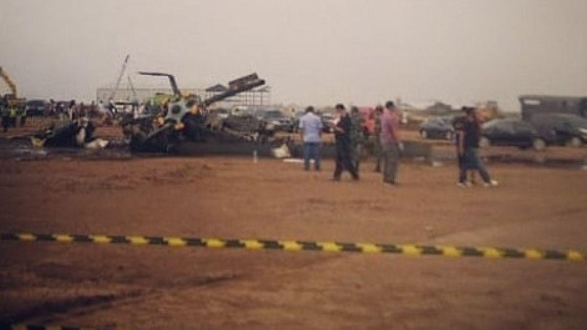 KASAD Andika Terima Laporan Kecelakaan Helikopter MI-17, Satu Orang Alami Luka Bakar 60 Persen