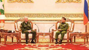 Pemimpin Rezim Militer Myanmar Kunjungi Rusia: Tidak Ditemui Putin, Bakal Belanja Senjata?