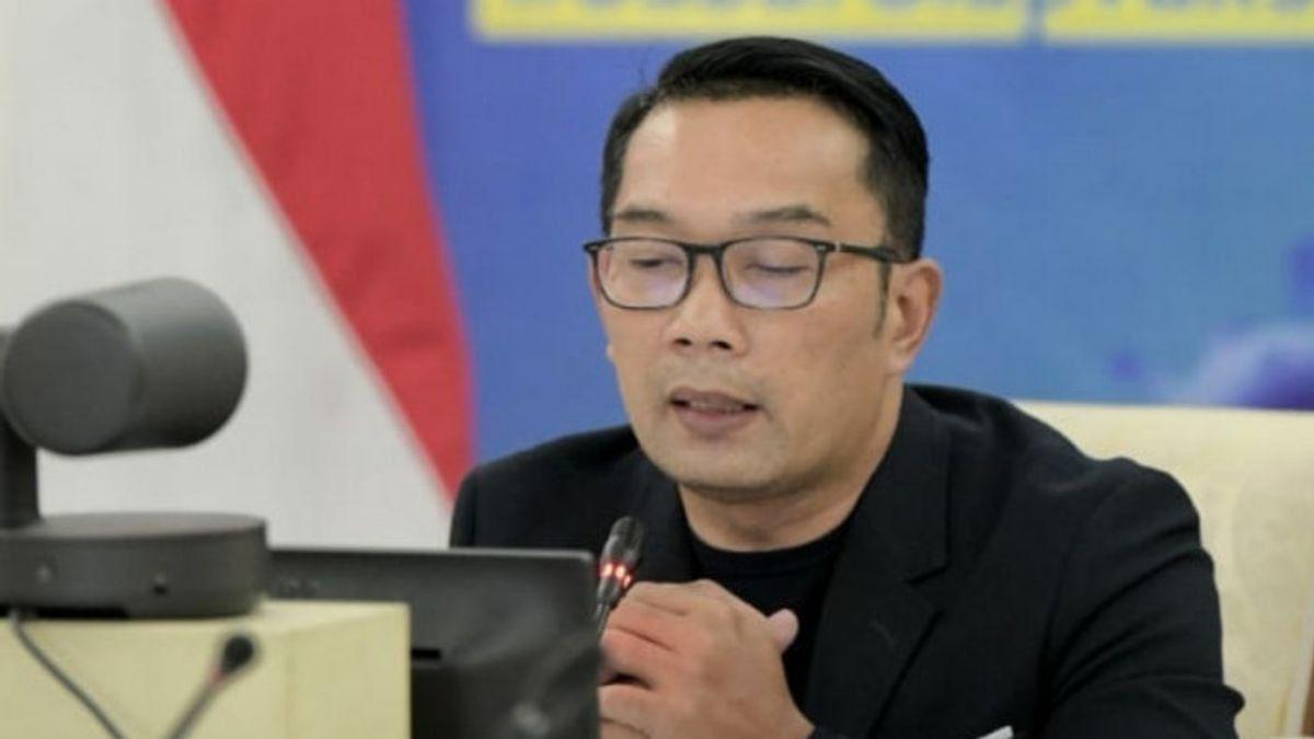 Kabar Gembira dari Ridwan Kamil, Kasus Kematian Akibat COVID-19 di Jawa Barat Turun