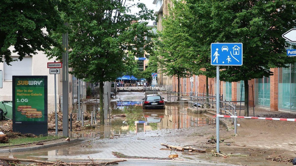 Puluhan Orang Tewas Akibat Banjir Parah di Eropa Barat, Ahli: Curah Hujan Tertinggi dalam Seabad