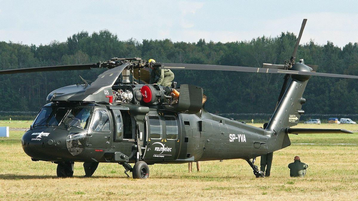 Jatuh dan Tewaskan Enam Tentara, Armada Helikopter Black Hawk Filipina Dikandangkan