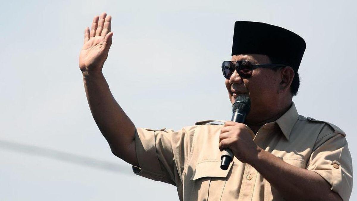 Elektabilitas Prabowo Perkasa di Survei, Gerindra Masih Malu-malu: Belum Bahas Capres 2024