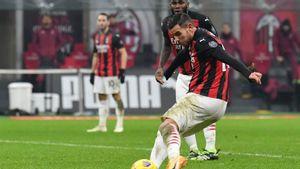 <i>Brace</i> Hernandez Hindarkan Milan dari Kekalahan Pertama di Liga Italia