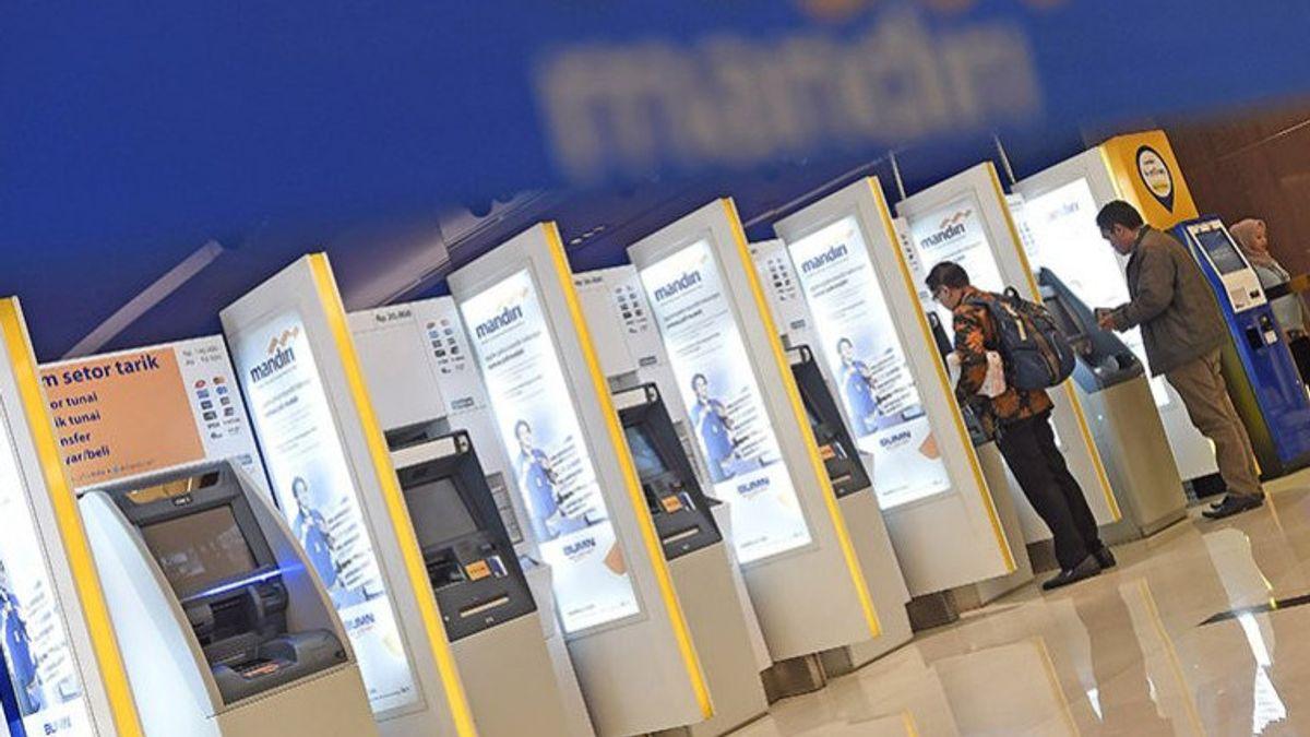 Bank Mandiri Sesuaikan Batas Maksimal Penarikan Tunai Rp20 Juta di Mesin ATM, Manajemen: Kami Menyambut Baik