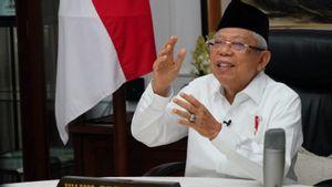 Ma'ruf Amin: Pasar Muamalah Merusak Ekosistem Ekonomi dan Keuangan Nasional