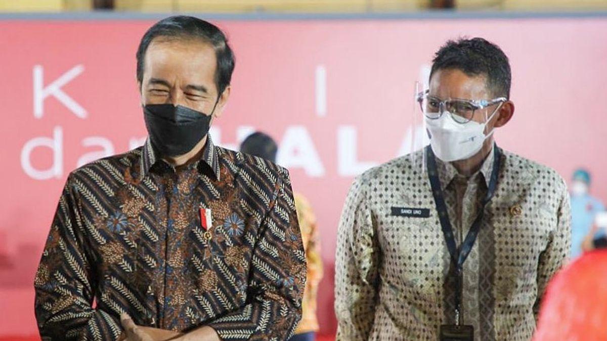 Bimbim Slank, Cak Lontong hingga Nicholas Saputra Divaksin, Disaksikan Jokowi, Anies Baswedan dan Sandiaga Uno