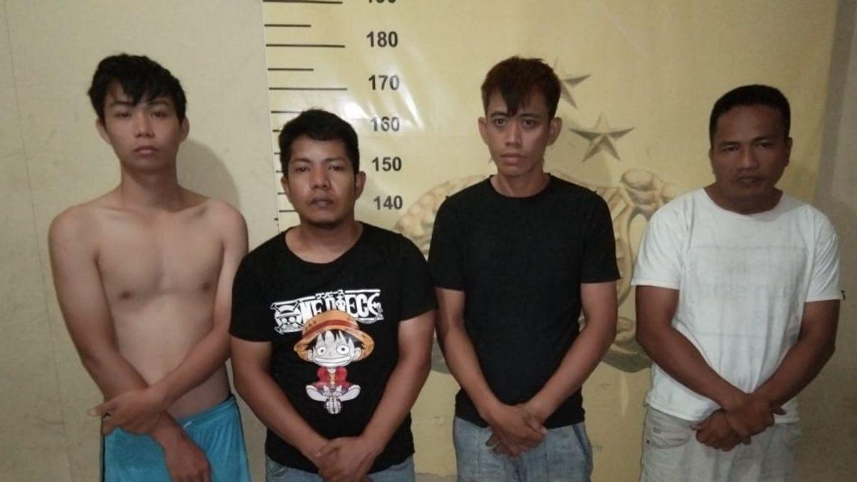 5 Pencuri 77 HP dan 21 Laptop di Pegadaian Medan Ditangkap, Ini Tampangnya