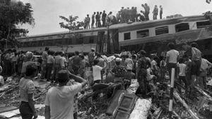 Detik-detik Terjadinya Tragedi Bintaro 1987: Tabrakan Kereta Api Paling Mematikan di Indonesia
