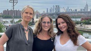 Sarah Jessica Parker Ungkap First Look Reboot <i>Sex and The City</i>
