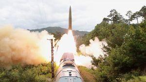 Korea Utara Sukses Uji Coba Penambakan Rudal Berbasis Kereta, Hantam Target Sejauh 800 Kilometer