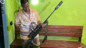 Polisi Sita 5 Senjata Api Rakitan, Teleksop dan Puluhan Butir Amunisi di Merauke