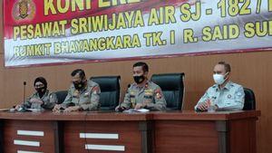 5 Penumpang Sriwijaya Air SJ-182 Berhasil Diidentifikasi, 2 di Antaranya Anak-anak