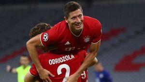 Lebih Hebat Lewandowski atau Messi? Ini Kata Vidal