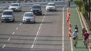Berlangsung Sepekan, Uji Coba Jalur Sepeda Sudirman-Thamrin Cuma 1,5 Jam