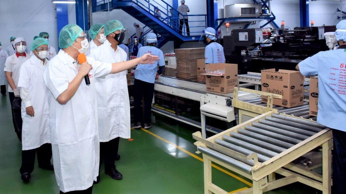Ministro De Industria Agus Gumiwang: ¿Quiere Que La Industria Manufacturera Crezca Un 4 Por Ciento? ¡Vacuna Con éxito COVID-19!