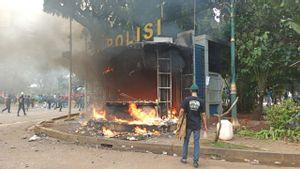 131 Pedemo UU Ciptaker di Jakarta Ditetapkan Sebagai Tersangka