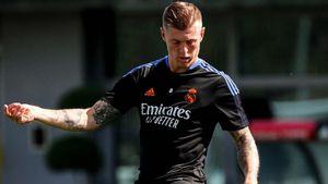 Kabar Gembira untuk <i>Madridistas</i>, Toni Kroos Sudah Ikut Latihan Ringan