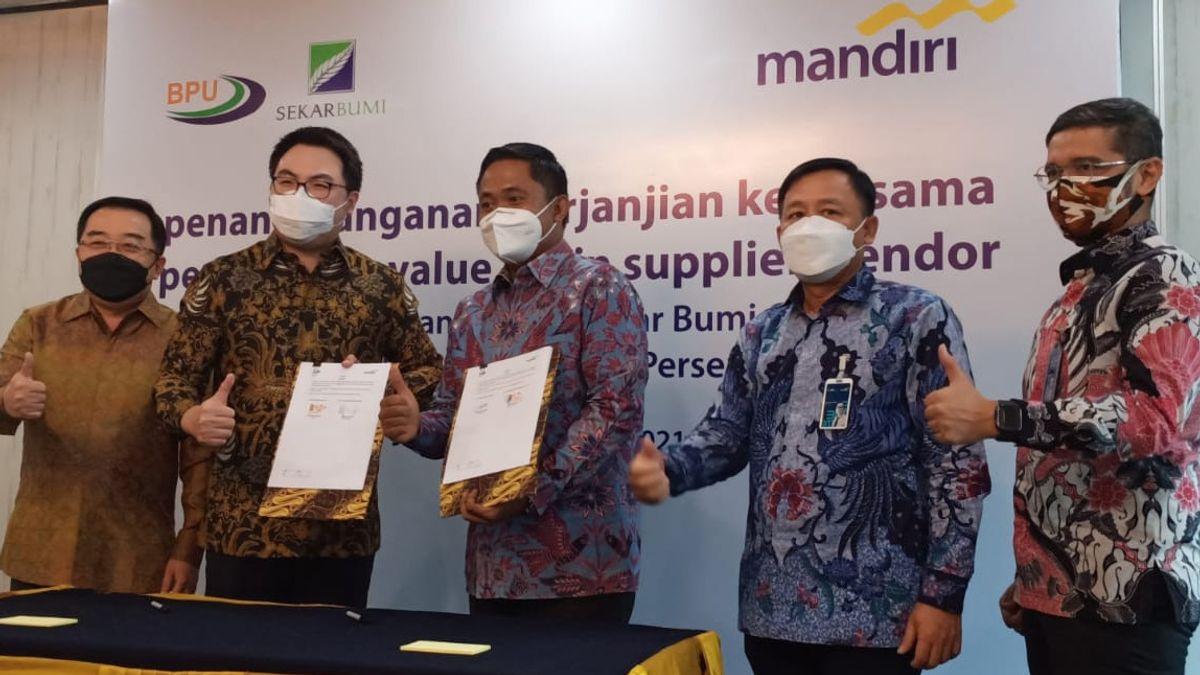 Accelerate Economic Recovery, Bank Mandiri Provides Credit Facility To PT Bumi Pangan Utama