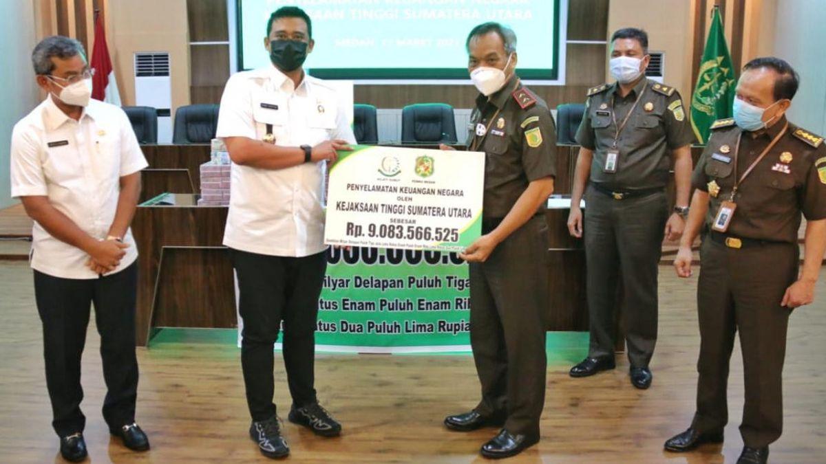 Senangnya Wali Kota Bobby Atas Bantuan Kejati yang Selamatkan Duit Pemko Medan Rp9 Miliar