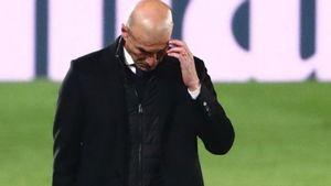Zidane Tinggalkan Real Madrid
