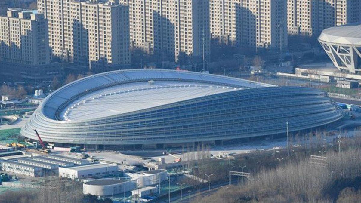 China Uji Coba <i>Scan QR Code</i> di Venue Olimpiade Musim Dingin 2022