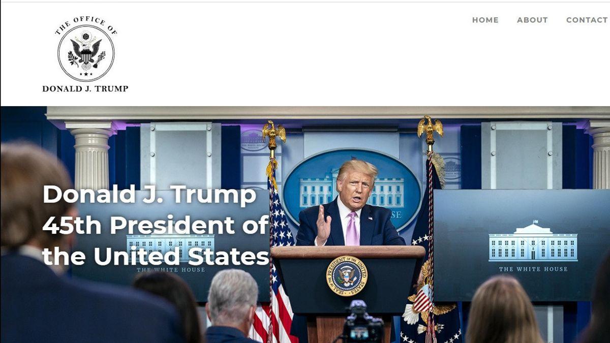Akali Larangan Twitter dan Facebook, Donald Trump Bikin Fitur Baru di Situs Pribadinya