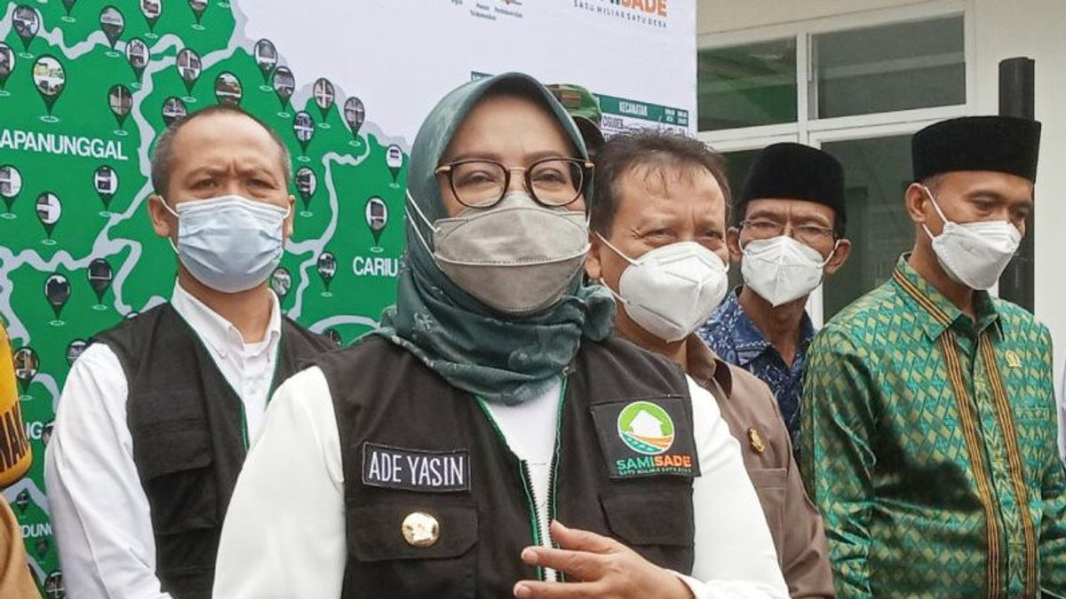 Good News! Regent Ade Yasin Called The COVID-19 Case In Bogor Sloping