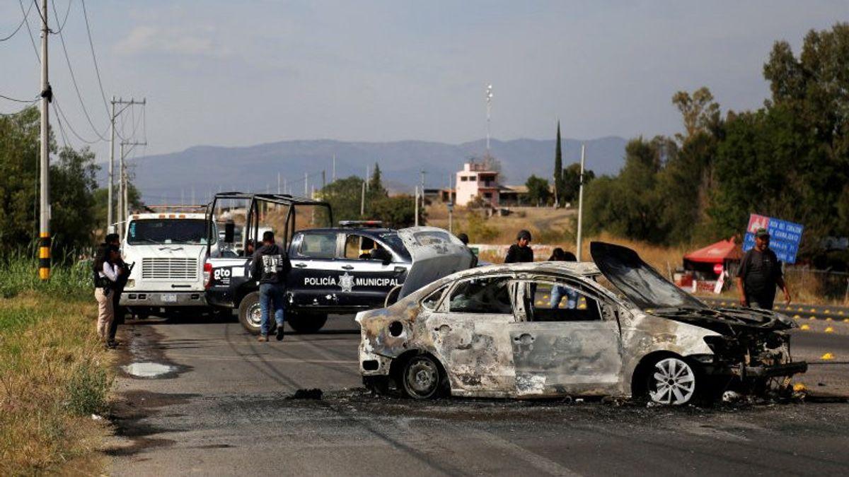 Satu Mobil, 12 Jasad: Perang Kartel Meksiko Makin Mematikan