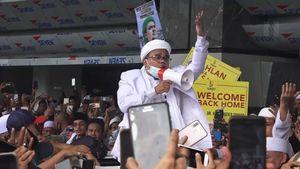 'Nyanyian' Rizieq Shihab di PN Jaktim, Kali Ini Bawa Nama Jaksa Agung ST Burhanuddin, Ada Apa?