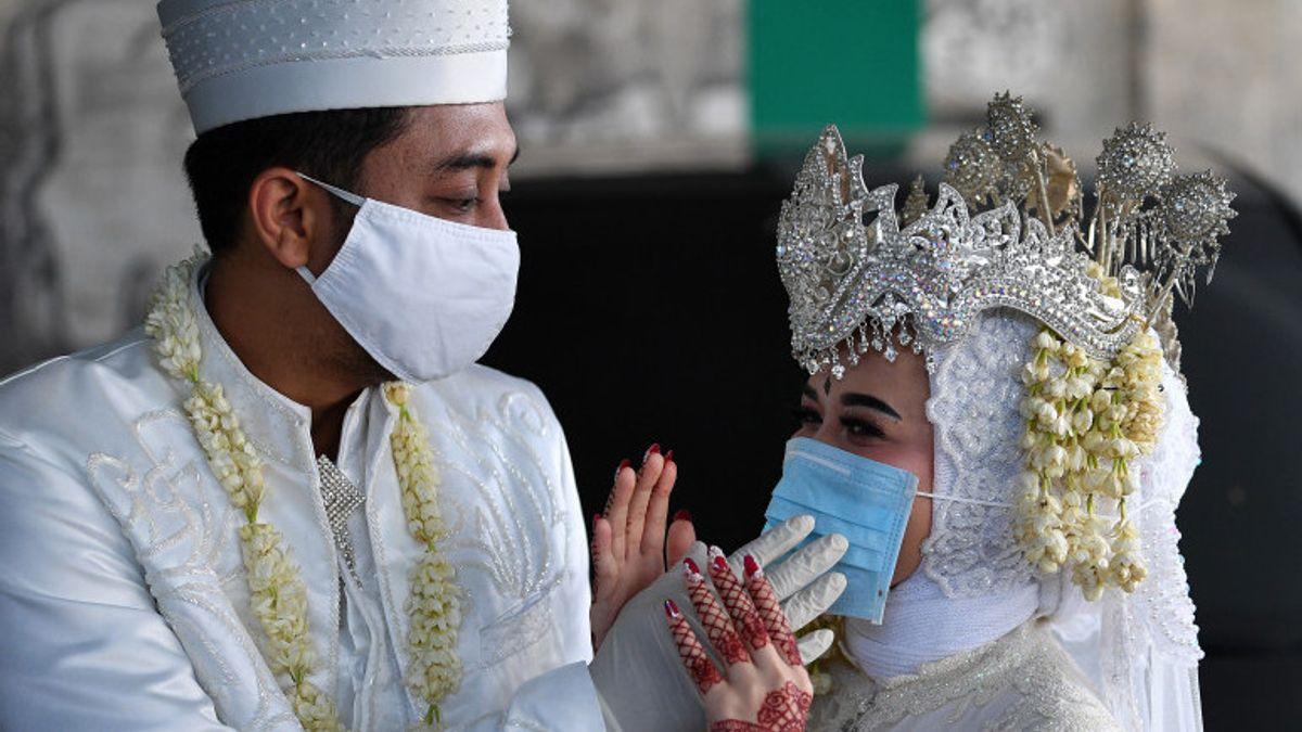 Akad Nikah di Jakarta Wajib Vaksin, Termasuk Keluarga, Tamu dan Petugas