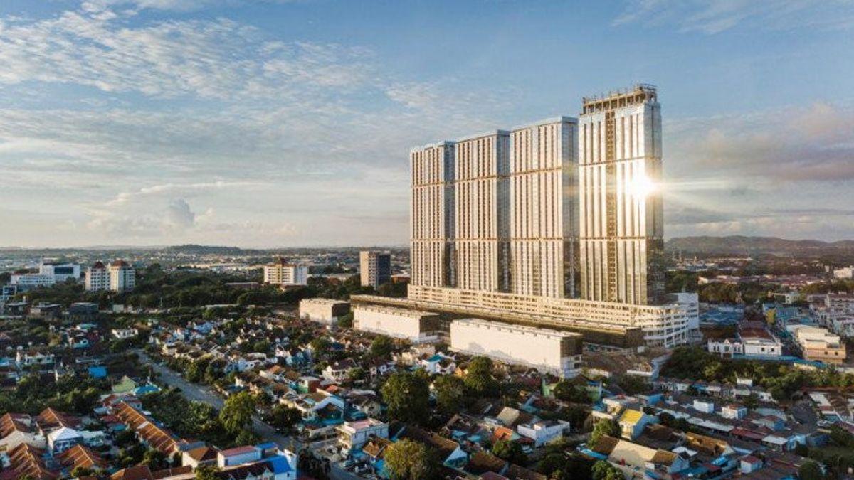 2021年第一季度,由尼科·普尔诺莫·波集团拥有的巴淡哈比塔开发商为公司带来了1945亿印尼盾的收入