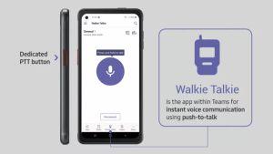 Microsoft Teams Bisa Ubah Ponsel Jadi  <i>Walkie-Talkie </i>Jadul