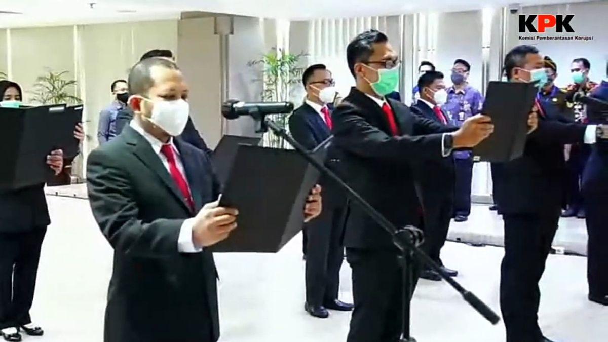 Perkuat Penindakan, KPK Lantik 11 Jaksa Penuntut Umum dari Kejagung