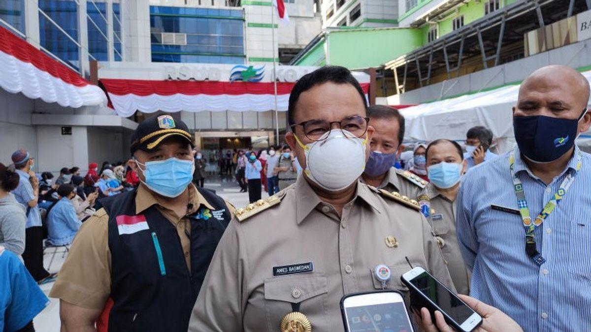 Anies Baswedan Ungkap 87 Persen Temuan Mutasi COVID-19 di Jakarta Varian Delta