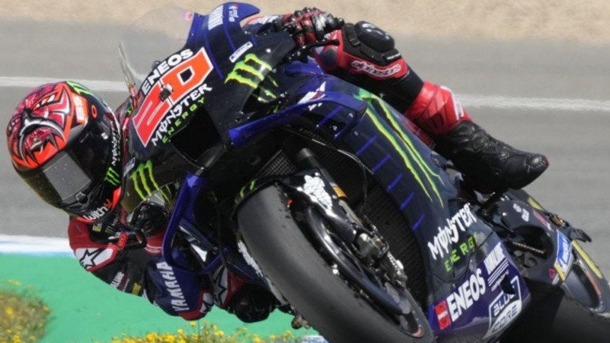 MotoGP Spanyol, Fabio Quartararo Waspadai RIval demi 3 Kemenangan Beruntun di Jerez