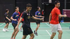 Wajah Ceria dan Semangat,Tim Indonesia Siap Tempur di Perempat Final Piala Sudirman