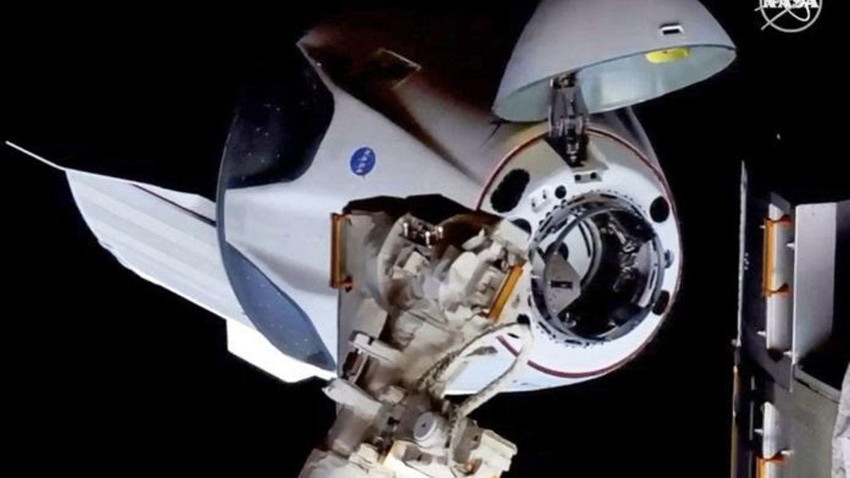 Astronot yang Baru Tiba di ISS Ungkap Pengalaman Menunggangi Crew Dragon