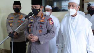 Silaturahmi ke Rabithah Alawiyah, Kapolri Bicara Keamanan dan Penerapan Prokes