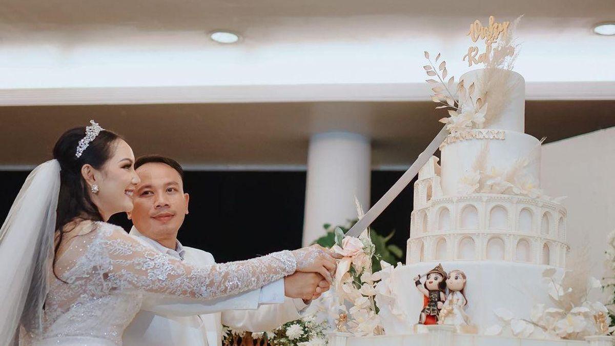 5 Drama di Pernikahan Seumur Jagung Kalina Oktarani dan Vicky Prasetyo