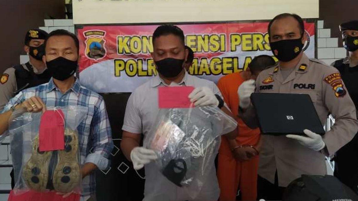 Pencuri Bermodus Ganjal Mesin ATM di Magelang Ditangkap saat Tunggu Istri Melahirkan