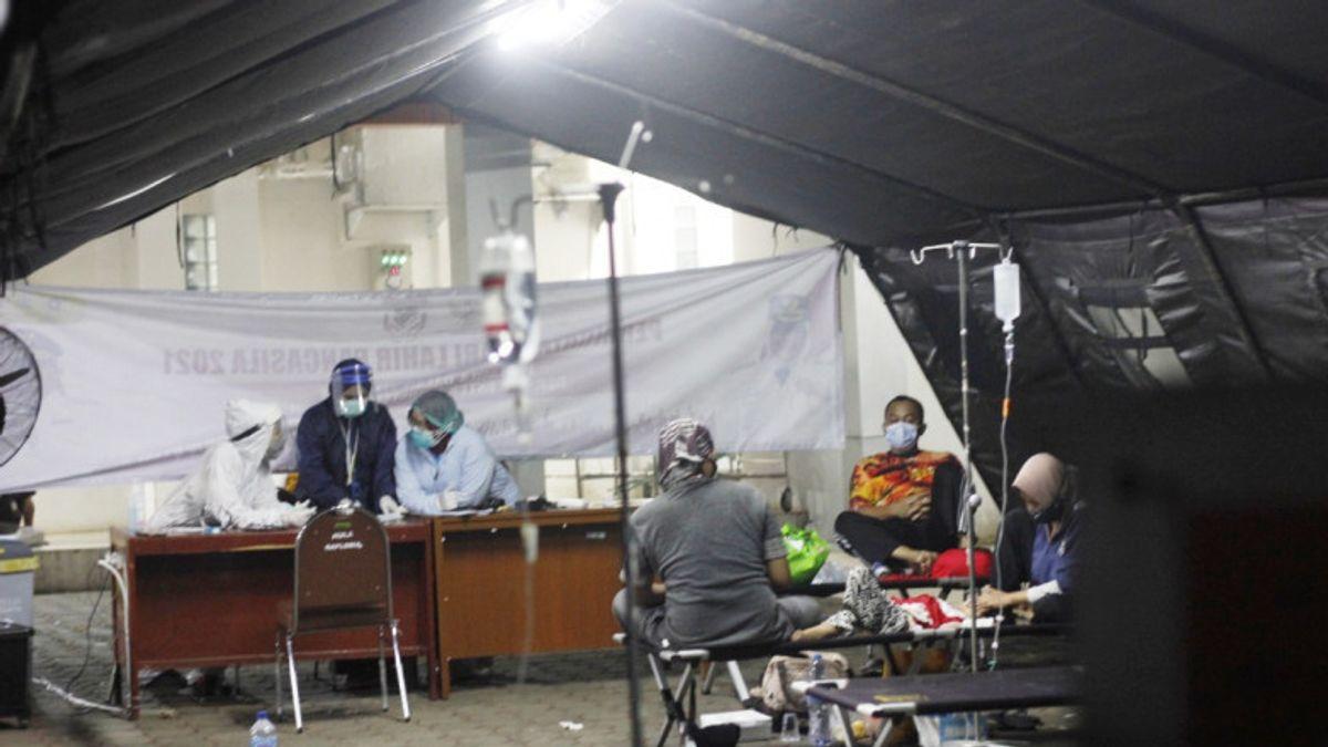 RS di Bogor Mulai Bongkar Tenda Darurat Usai Angka BOR Menurun