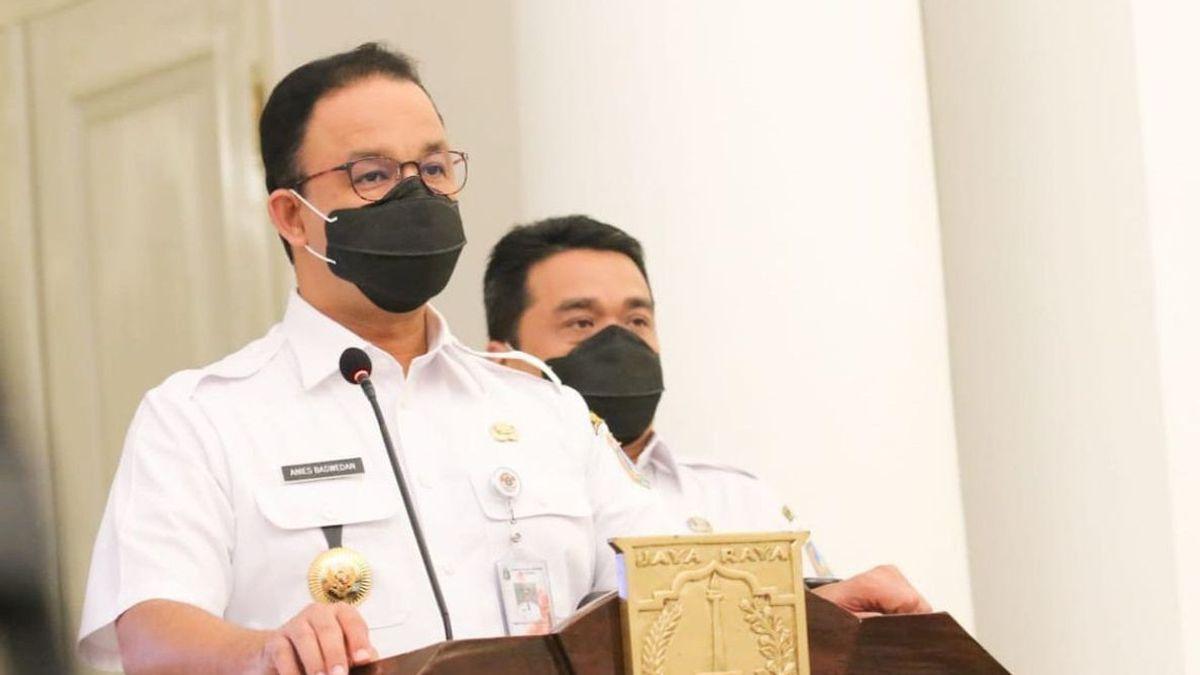 Anies Baswedan Klaim ASN DKI Punya Gaji Cukup sehingga Tak Korupsi