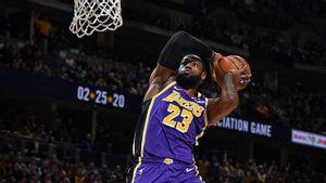 Tidak Dapat Suara Sama Sekali dalam Survei Pemain Terbaik NBA, LeBron James: Terima kasih!